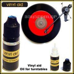 Λάδι για Πικάπ 10ml  Vinyl Aid-3345rpm
