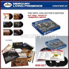 Mercury Living Presence- 6LP 180gr Vinyl Box Set
