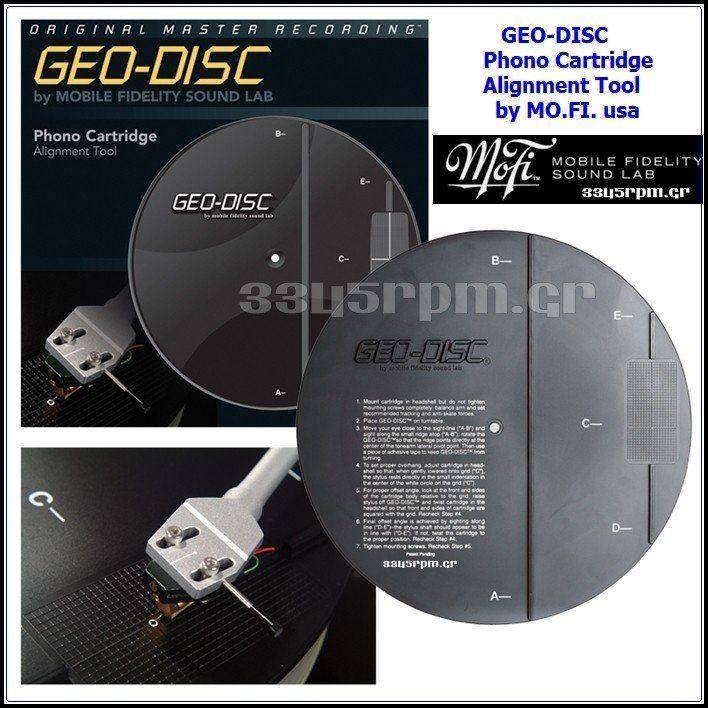 Geo-disc Cartridge Alignment Tool -Mobile Fidelity MFSL