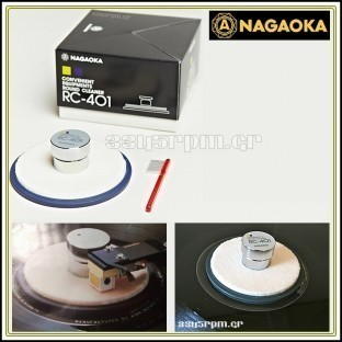 Nagaoka RC-401 Record Clamp & Stylus Cleaner