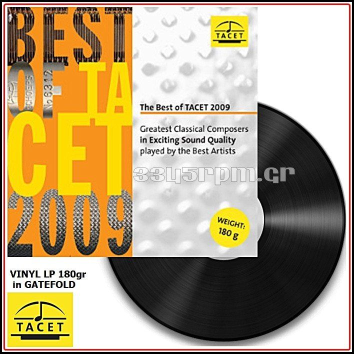 Best Of Tacet 2009 - Vinyl LP 180gr