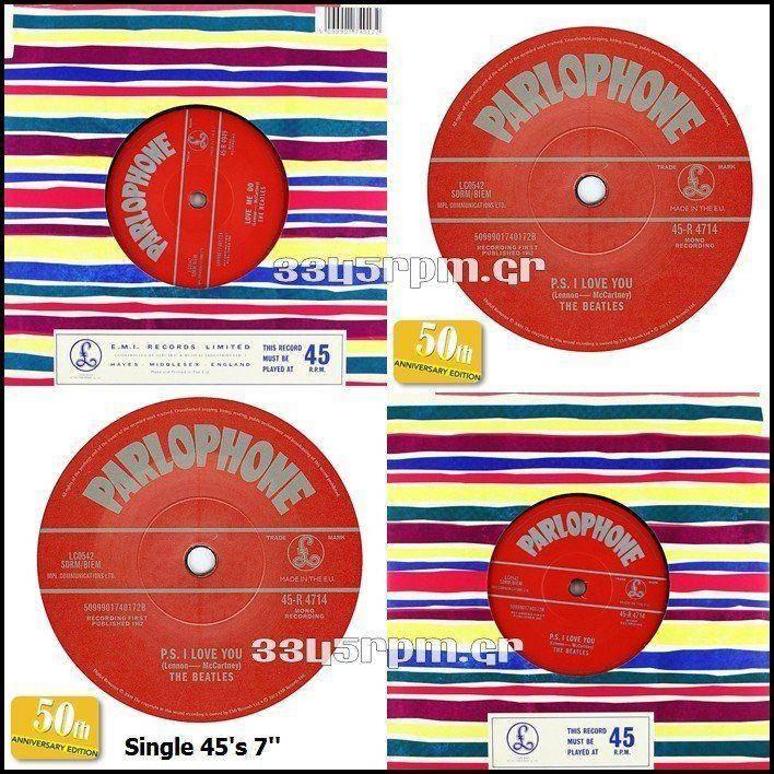 Beatles - Love me do- 7inch Vinyl Single 45s