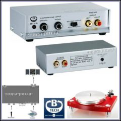 B-Tech - BT26 - Προενισχυτής πικάπ για κεφαλές MM Phono Preamp