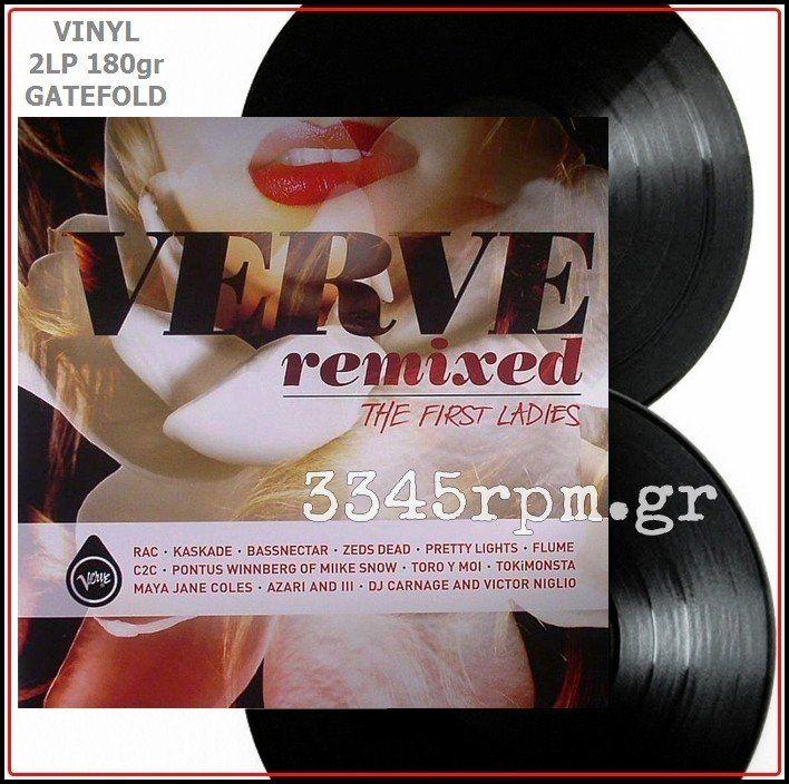 Verve Remixed - The First Ladies- Vinyl 2LP 180gr