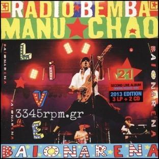 Manu Chao - Baionarena - Vinyl 3Lp & 2CD