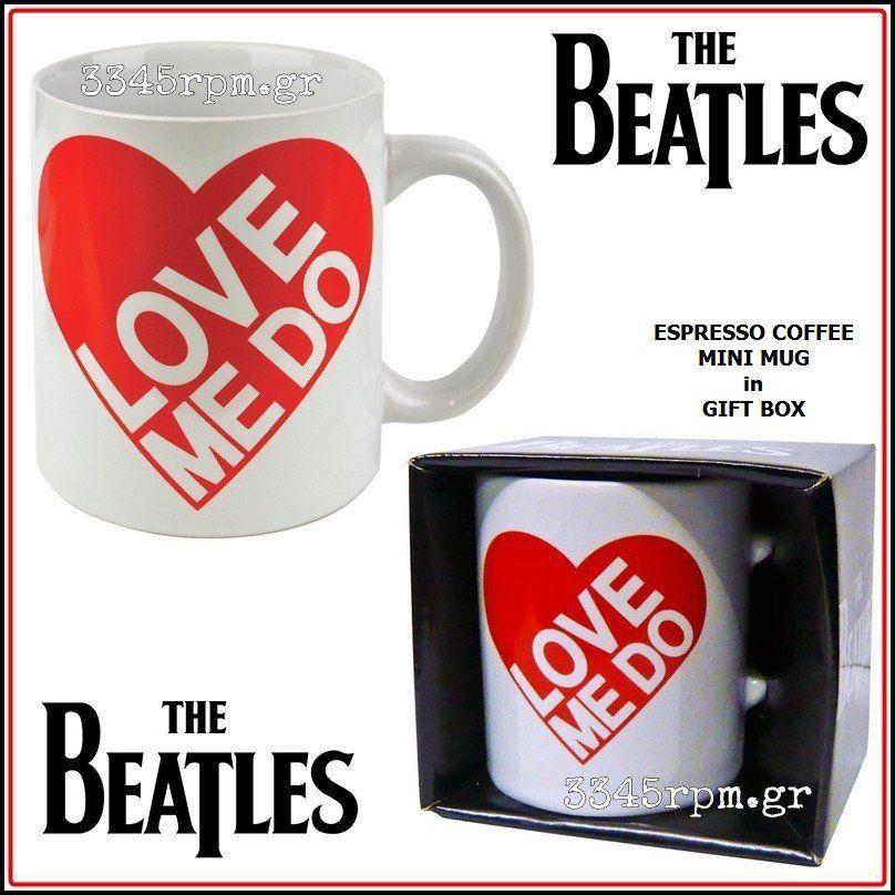Beatles - Love Me Do - Espresso Κούπα
