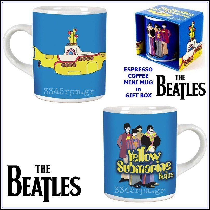 Beatles - Yellow Submarine - Espresso Κούπα