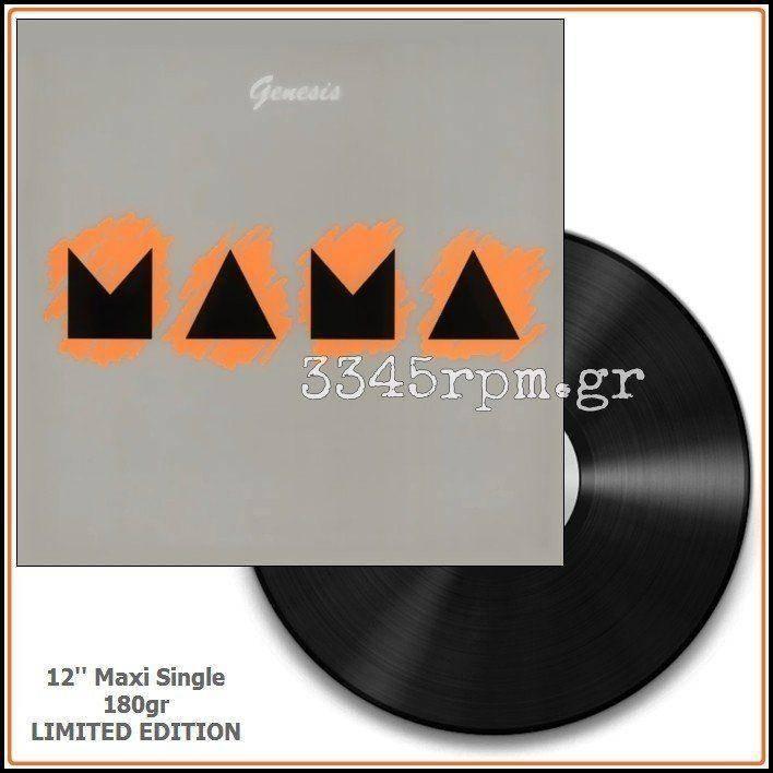Genesis  - Mama - Vinyl 180gr Maxi-Single 12inch