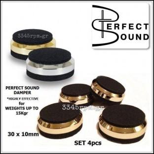 Perfect Sound - Αποσβεστήρες Κραδασμών Hi-Fi Audio - Gold