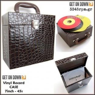 Deluxe Βαλιτσάκι για δίσκους βινυλίου 7inch – 45s