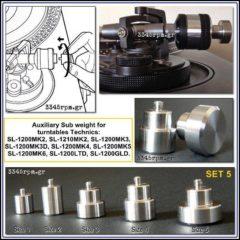 Αuxiliary sub weight  for Technics ΜΚ2