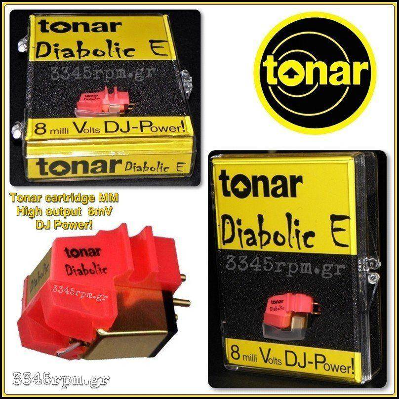 Tonar - Diabolic E  Cartridge - Κεφαλή βελόνα πικάπ