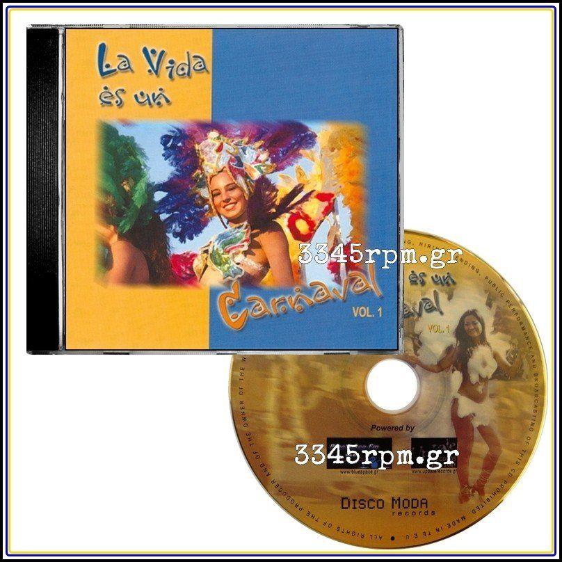 La Vida Es Un Carnaval Vol 1- Italo Disco CD