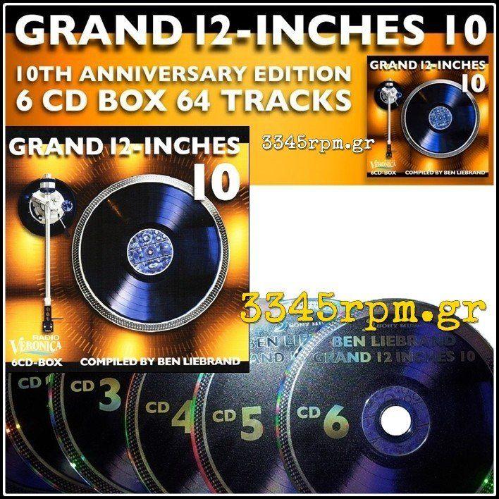 Grand 12 Inches Vol 10 - 6CD Box Set 80s