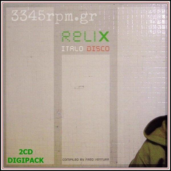 Relix Italo Disco 12inch versions - 2CD Box Italo Disco