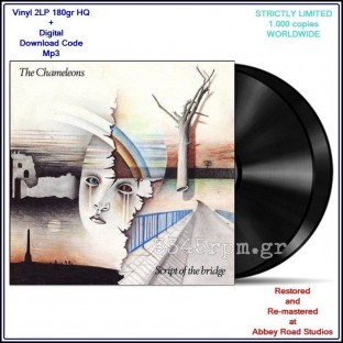 Chameleons - Script of The Bridge - Vinyl 2LP 180gr HQ & Mp3
