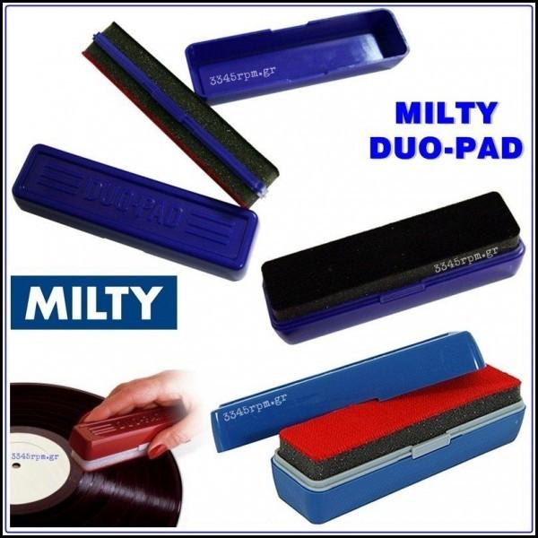 Milty Duopad - Διπλή βούρτσα καθαρισμού δίσκων βινυλίου