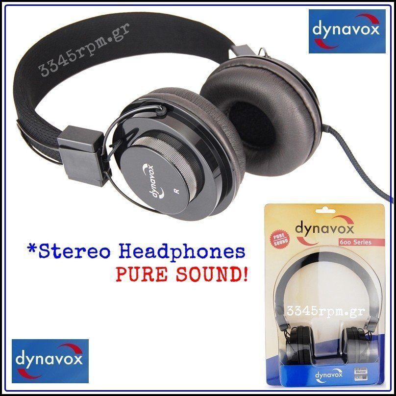 Dynavox HP-602- Στερεοφωνικά Ακουστικά