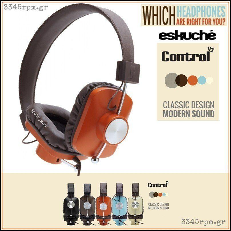 Eskuche - Control V2 - Classic Stereo Headphones