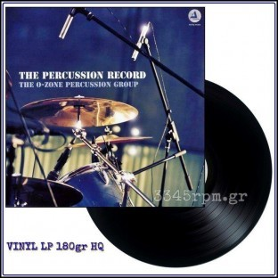 O-Zone Percussion Group - The Percussion Record - Vinyl LP180gr