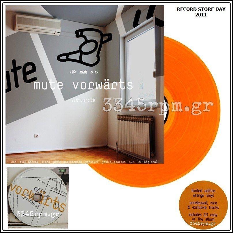 Mute  - Vorwarts - Vinyl LP Colored & CD - RSD 2011
