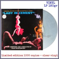 Lady In Cement - OST -  Hugo Montenegro - Clear Vinyl LP 180gr