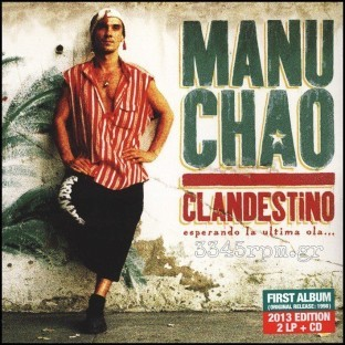 Manu Chao - Clandestino - Deluxe Vinyl 2LP & CD