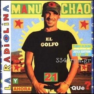 Manu Chao - La Radiolina - Deluxe Vinyl 2LP & CD