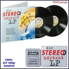 Die Stereo Hortest LP -Vinyl 2LP 180gr DMM