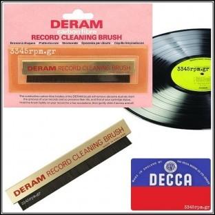 Decca Deram Αντιστατικό βουρτσάκι δίσκων βινυλίου