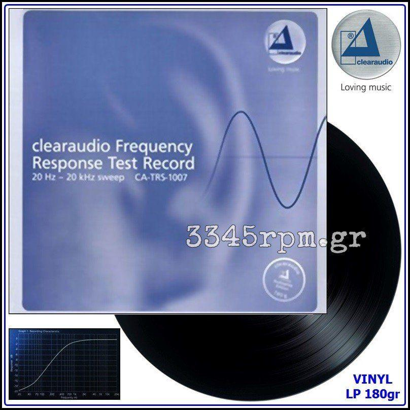 Clearaudio - Frequency Response Test Record - Vinyl LP 180gr