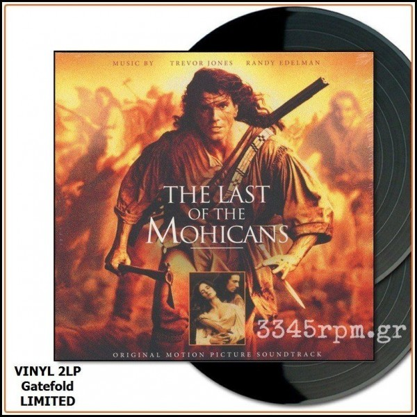 The Last Of The Mohicans Ost Vinyl 2lp Limited 3345rpm