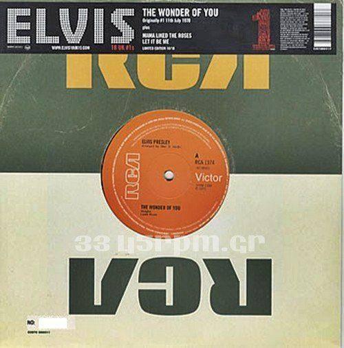 ELVIS PRESLEY - The Wonder Of You-3345rpm.gr