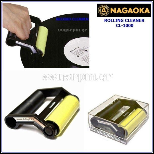Nagaoka CL-1000 Record Cleaning Roller
