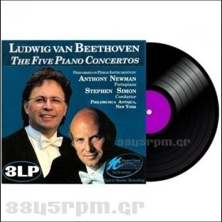 Beethoven - The Five Piano Concertos -3345rpm.gr