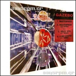 Gazebo - Masterpiece - Dolce Vita - I Like Chopin -3345rpm.gr