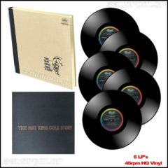 Nat King Cole -  Nat King Cole Story - Βoxset 5LP HQ Vinyl- 3345rpm.gr