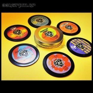 Soul - Music vinyl coasters Boxset 6 - 3345rpm.gr