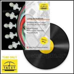 Tacet - Tube Only - Symphony No. 1 & No. 2 - LP Vinyl 180gr - 3345rpm.gr