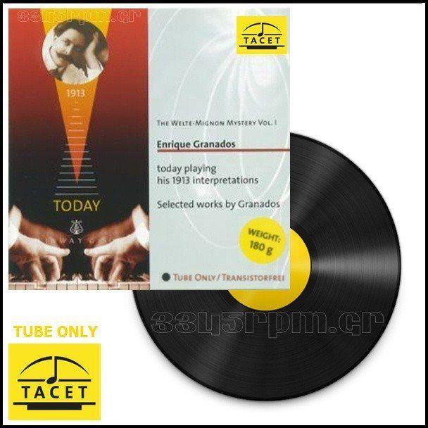 Tacet - Tube Only - Enrique Granados - Vinyl LP 180gr - 3345rpm.gr