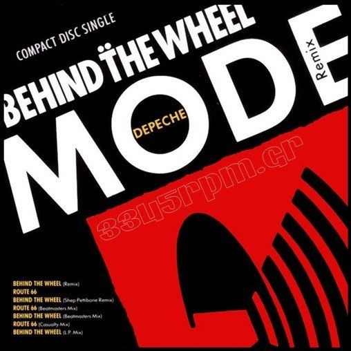 Depeche Mode - Behind The Wheel -Route 66 - CD single - 3345rpm.gr