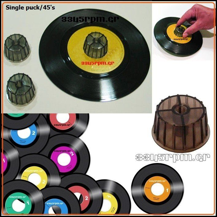 Single Puck Adapter 45s - 3345rpm.gr