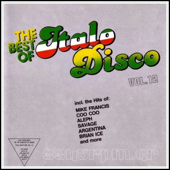 Best Of Italo Disco Vol.12 - 3345rpm.gr