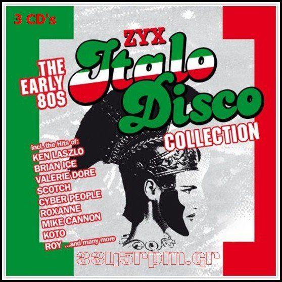 Italo Disco Early 80s - 3CDs  Italo Disco - 3345rpm.gr