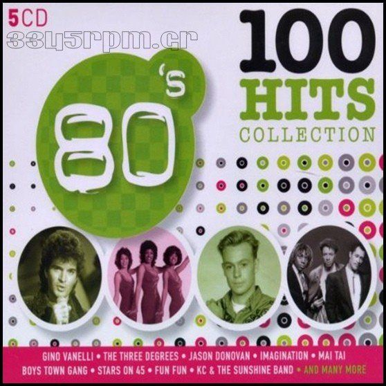 100 Hits Collection 80s - 5 CD Box set - 3345rpm.gr