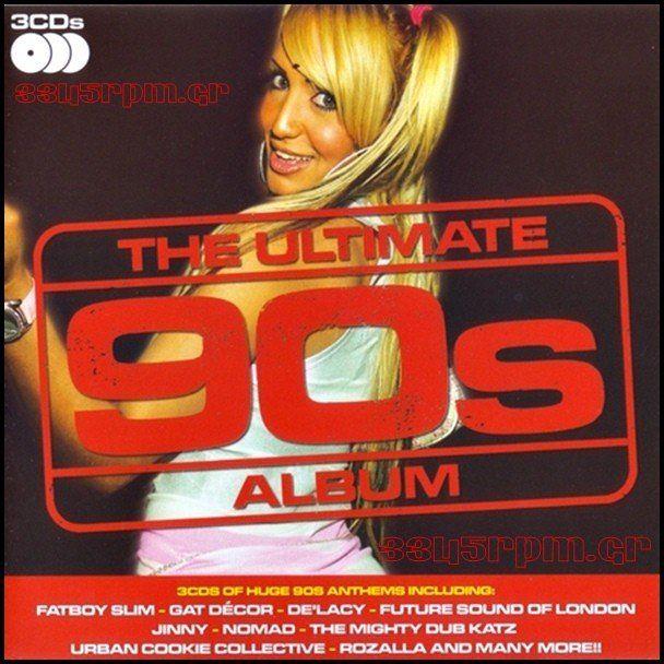 Ultimate 90s Album - 3CD BOX - 3345rpm.gr