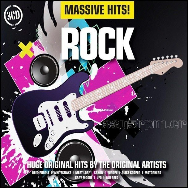 Massive Hits - Rock - 3CD BOX - 3345rpm.gr