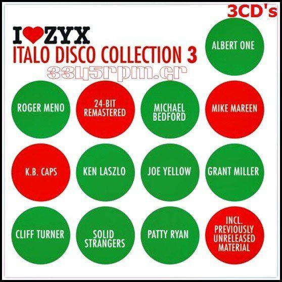 Italo Disco Collection 3 - 3CD ΒΟΧ Italo Disco - 3345rpm.gr