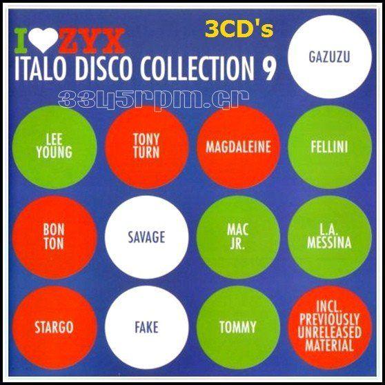 Italo Disco Collection 9 - 3CD ΒΟΧ Italo Disco - 3345rpm.gr