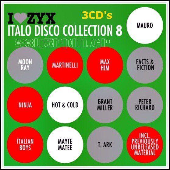 Italo Disco Collection 8 - 3CD ΒΟΧ Italo Disco - 3345rpm.gr